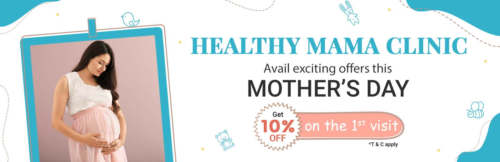Healthy Mama Clinic Mother's Day Offer